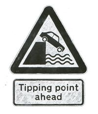 Animation by Leo Murray at the Royal College of Art. . .helping us talk about tipping points in many languages http://wakeupfreakout.org/film/tipping.html