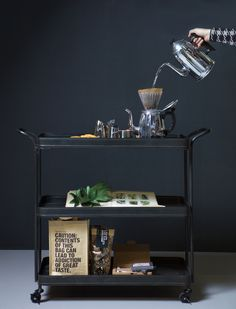 Metal Tea Trolley. New collection BePureHome - bepurehome.com…