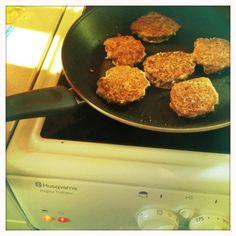 Marikkas vegetariska: Linsbiffar