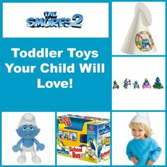 Your little ones will love these toddler toys based on the super popular Smurfs 2 movie! Check them out and plan your holiday shopping early! Toddler Toys, Kids Toys, Birthday Presents, Tween, Fun Activities, Your Child, Little Ones, Smurfs, Craft Projects