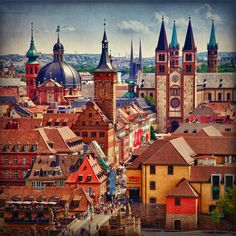Spires of Wurzburg | Flickr - Photo Sharing!
