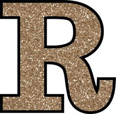 Glitter Without The Glue! Free Digital Printable Alphabet to Download: Glitter Letter R