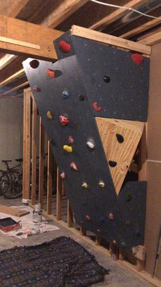 Home bouldering Wall.