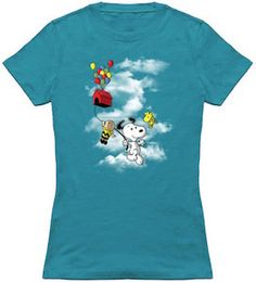Peanuts Going Up T-Shirt.
