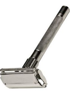 Double-Edged Safety Razor.My brother's first razor. I used it to shave my armpits and get punished invariably.