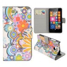 Capa Livro Nokia Lumia 630 - 635 Design Natureza Flores 4 8,99 €