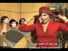Nouer foulard en rosace en chimio Oncovia.wmv - YouTube