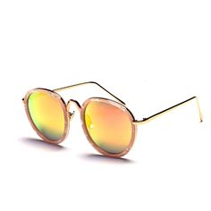 8efb3ee19d4a Aliexpress.com   Buy High quality women brand designer sunglasses round  mirrored shades cat eye glasses Alloy frame Specialties Sun Glasses from  Reliable ...