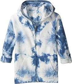 979d1e57ab35 CC California Kids Girls TieDye Fleece Top Little KidsBig Kids Navy Shirt      You can find out more details at the link of the image.