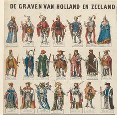 Nazaten Graven van Holland - JohnOoms.nl Kinds Of Story, Ferdinand, Ancestry, Family History, Knights, Golden Age, Genealogy, Old Photos, Netherlands
