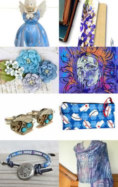 Blue for a Blue Day by krisstyi on Etsy--Pinned with TreasuryPin.com