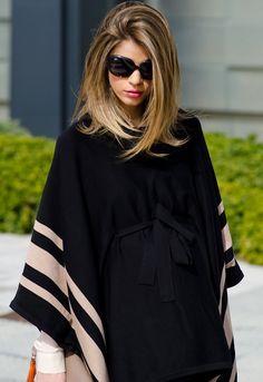 Ms Treinta - Fashion blogger - Blog de moda y tendencias by Alba.: Poncho