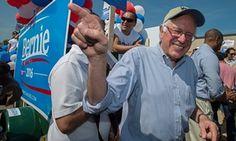 Bernie Sanders in New Hampshire september 2015.