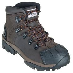 Avenger A7250 Mens Steel Toe EH Brown Hiking Boots