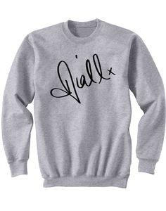 Niall Horan handtekening Sweatshirt Niall Horan Shirt één