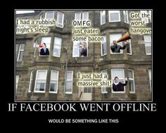 If #Facebook went offline... ;)