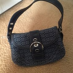 Coach Purse Great condition. Only carried 1 time. One small stain on bottom Coach Bags Shoulder Bags