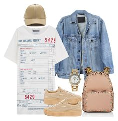 """505 💥"" by beautyvialara on Polyvore featuring Y/Project, Moschino, Rolex, Valentino and Puma"