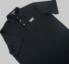 24bbef4f5a38 Mens L large Peter Millar Summer Comfort Golf Polo Shirt black PXG Golf   PeterMillar