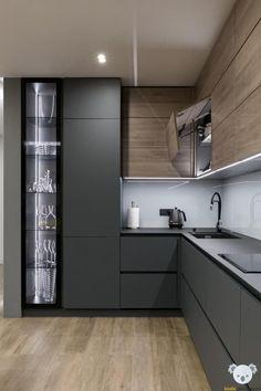 Kitchen interior design – Home Decor Interior Designs Modern Kitchen Interiors, Luxury Kitchen Design, Kitchen Room Design, Kitchen Cabinet Design, Interior Modern, Home Decor Kitchen, Interior Design Kitchen, Interior Plants, Kitchen Ideas