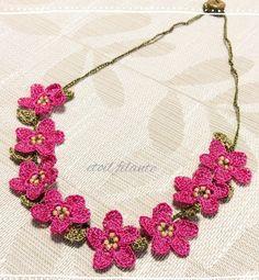 oya crochet bracelet / necklace