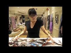 The Oversized Scarf | Liberty of London How to Tie A Scarf video series
