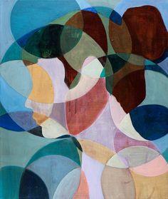 "Anne Torpe ""Portrait"" 60x50 cm oil on canvas"