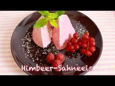Himmlisches Himbeer-Sahneeis - ohne Eismaschine