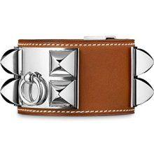 the Hermes colier de chien cuff bracelet