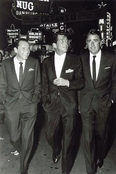 Frank, Dean and Peter; Vintage Vegas.