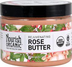 Nourish Organic Rejuvenating Rose Butter -- 5.2 oz - Vitacost
