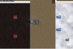 Lava Floor & Ice Block Test