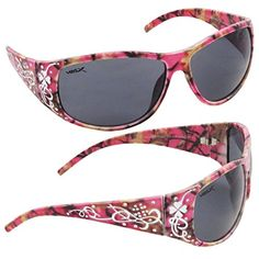 28dd318c93 VertX Hot Pink Camouflage Sunglasses Fishing HuntingFree Microfiber Pink  Bag Hot Pink Smoke     You can find out more details at the link of the  image.