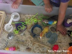 Toddler Rainy Day Boredom Busters!