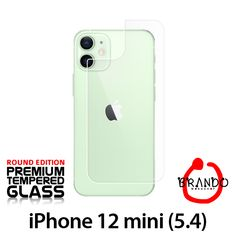 Brando Workshop Premium Tempered Glass Protector (Rounded Edition) (iPhone 12 mini (5.4) - Back Cover) Phone Screen Protector, Glass Protector, Usb Gadgets, Workshop, Iphone, Mini, Cover, Atelier, Work Shop Garage