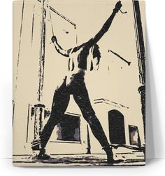 Bad, bad, naughty girl... Erotic slave stencil canvas art print. (hot girl, sexy blonde, kinky amateur, woman nude, full frontal nudity, nudism, sexy polish blonde) also available at casemiroarts.com