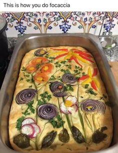 Focaccia – Home Decoration Chicken Tikka Masala Rezept, Food Porn, Bread Art, Vegan Recipes, Cooking Recipes, Lasagna Recipes, Turkey Recipes, Crockpot Recipes, Diet Recipes