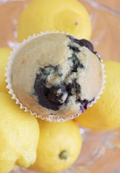 Milk Free Mom - Healthy Dairy Free Recipes & Products » Blueberry Lemon Muffins