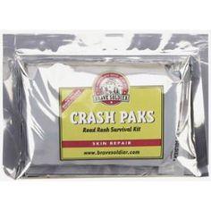 Brave Soldier Crash Paks Road Rash Survival Kit