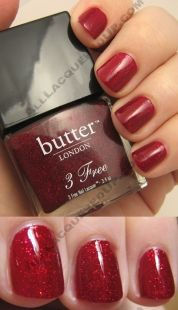 (butter- London Chancer) I want to try butter polish as well!!