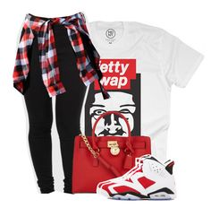 """""""Fetty Wap"""" by dopest-queens ❤ liked on Polyvore"""
