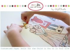 For the girls . . . . Lily and Thistle MiniMe Paper Dolls — The Ultimate Paper Doll Package