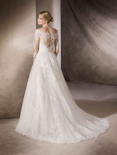 HAFORD - Wedding dress, tulle, embroidery, lace   St. Patrick