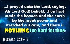Jeremiah 32:16-17