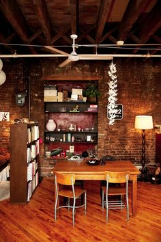 A loft photographed by Todd Selby - yay, so glad I found this! I had a jpg saved in an inspiration folder & couldn't remember where I found it!