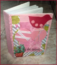 Álbum rosa passarinho By Dri Saiani