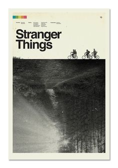 A limited edition digital print by designer Concepcion Studios, on view during the 2016 New York Comic Con with SPOKE (booth poster Concepcion Studios - Stranger Things Film Poster Design, Poster Art, Gig Poster, Design Posters, New York Poster, Poster Layout, Poster Ideas, Art Posters, Illustrations Posters