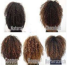 Curly Hair Salon, Dyed Curly Hair, Curly Hair Styles, Colored Curly Hair, Dyed Natural Hair, Curly Hair Tips, Natural Hair Highlights, Hairstyles For Curly Hair, 3c Hair