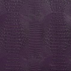 Purple Reptile Skin Look Vinyl Upholstery Fabric