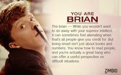 I took Zimbio's 'Breakfast Club' quiz and I'm Brian! Who are you? #ZimbioQuiznull - Quiz